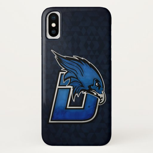 Blue Hawk Esports iPhone Case - Logo