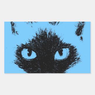 Blue Hayley.jpg Rectangular Sticker