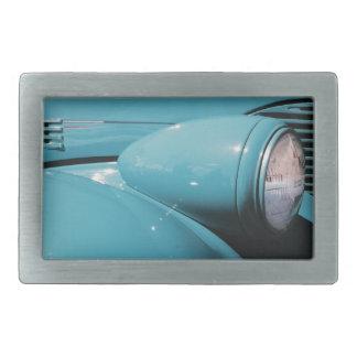 Blue Headlight Belt Buckle