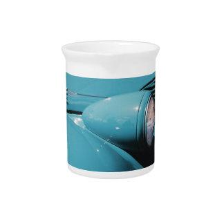 Blue Headlight Drink Pitcher