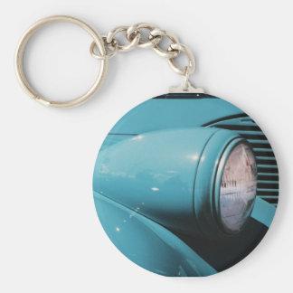 Blue Headlight Keychain