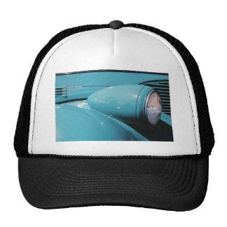 Blue Headlight Trucker Hat