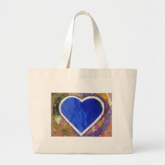 Blue Heart Bag