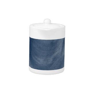 Blue Heart Edition Watercolor Teapot