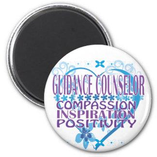 Blue Heart Guidance Counselor Magnet