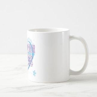 Blue Heart Guidance Counselor Mug
