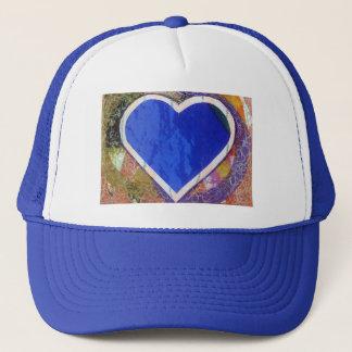 Blue Heart Hat