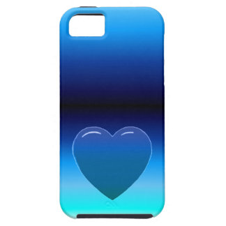 Blue Heart iPhone SE/5/5s Case
