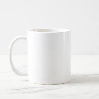 Blue Heart Mug mug