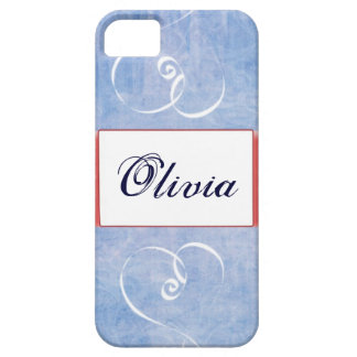 Blue Heart Name IPhone 5 case