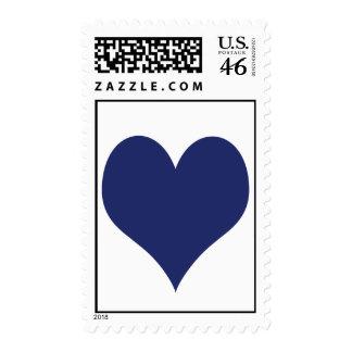 Blue Heart stamp