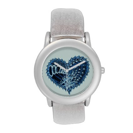 Blue Heart Watch