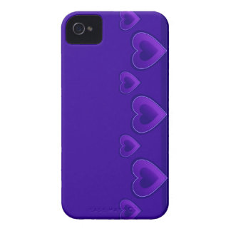 Blue Hearts BlackBerry Bold Case-Mate