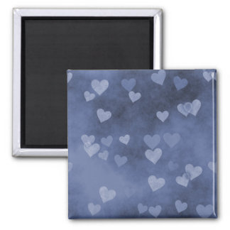 Blue Hearts Magnet