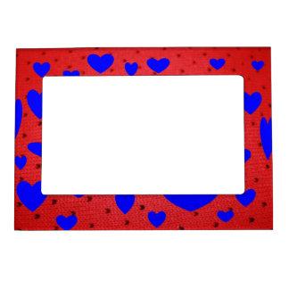 Blue Heart's Magnetic Frame
