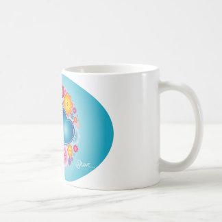 Blue hearts mugs