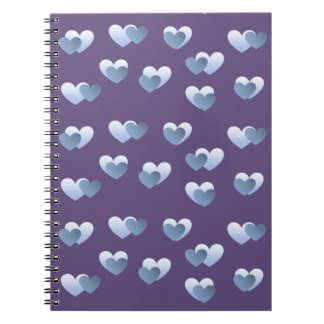 Blue Hearts Notebook
