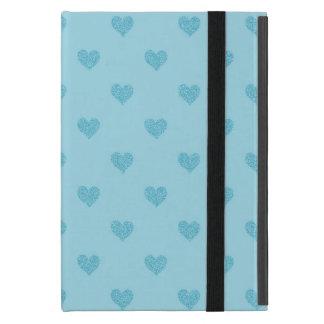 Blue Hearts :Powis iCase iPad Mini Case