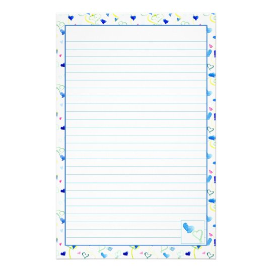 Lined Letter Paper Free Printable Lined Notebook Paper Best