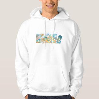 Blue Heat Graffiti Tag Sweatshirt