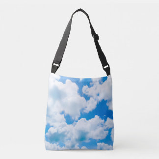 Blue Heaven Clouds II + your text & ideas Tote Bag