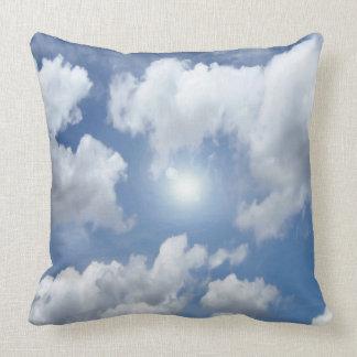 Blue Heaven Clouds + your ideas Pillows