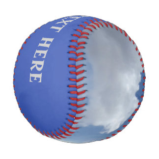 Blue Heaven Clouds + your text & ideas Baseball