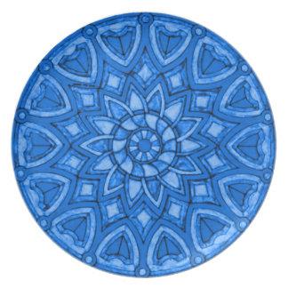 Blue Heaven Dinner Plate