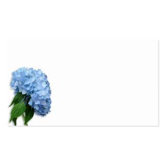 Blue Heaven Floral Blank Escort Cards