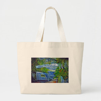 'Blue Heaven Key West' by Kandy Cross Mug Canvas Bags