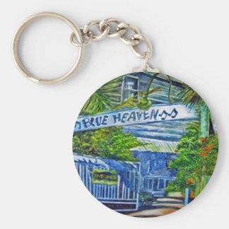 'Blue Heaven Key West' by Kandy Cross Mug Keychain