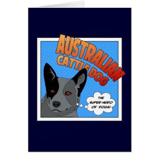 Blue Heeler Card