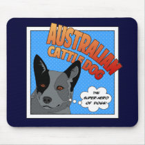 Blue Heeler Mouse Pad