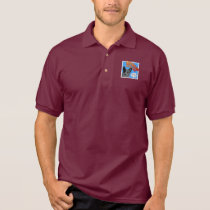 Blue Heeler Polo Shirt