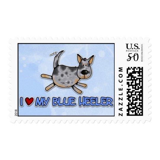 blue heeler postage