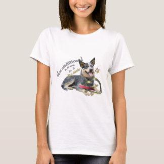 Blue Heeler Unconditional Love T-shirts