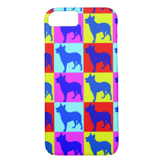 Blue Heelers Color Wall iPhone 8/7 Case
