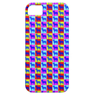 Blue Heelers Color Wall iPhone SE/5/5s Case