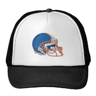 Blue Helmet Trucker Hat