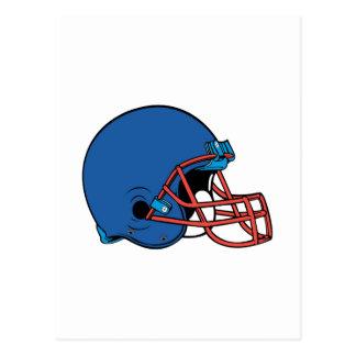 Blue Helmet Postcard