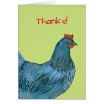 Blue Hen Chicken Eggs Thank You
