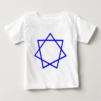 Blue Heptagram Infant T-shirt