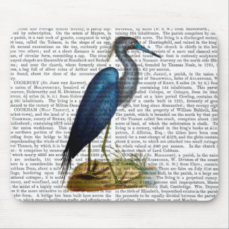 Blue Heron 3 2 Mouse Pad