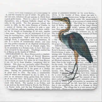 Blue Heron 3 Mouse Pad