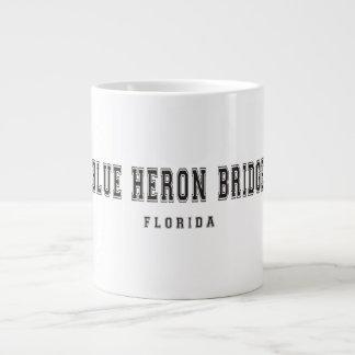 Blue Heron Bridge Florida Large Coffee Mug