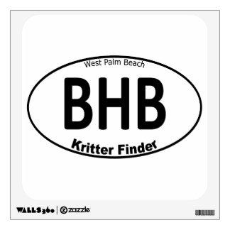 Blue Heron Bridge - Kritter Finder - Wall sticker