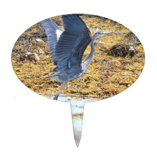 Blue Heron Cake Topper