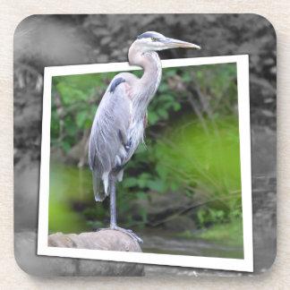 Blue Heron Coaster SET