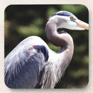 Blue Heron Drink Coaster