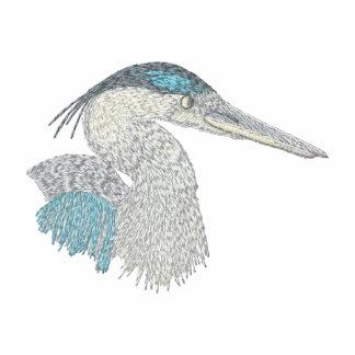 Blue Heron Embroidered Polo Shirt